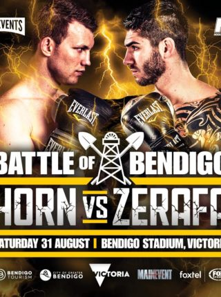 Jeff Horn vs. Michael Zerafa Poster