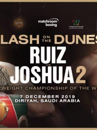 Der Rückkampf zwischen Andy Ruiz jr vs. Anthony Joshua findet am 7. Dezember in Saudi Arabien statt.