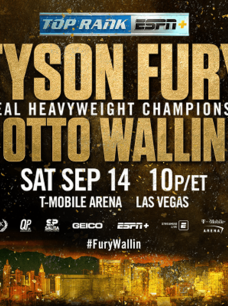 Tyson Fury vs Otto Wallin Poster