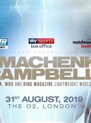 Vasiliy Lomachenko vs. Luke Campbell 1 Poster