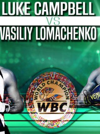 Vasiliy Lomachenko vs. Luke Campbell Poster