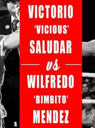 Vic Saludar vs. Wilfredo Mendez Poster