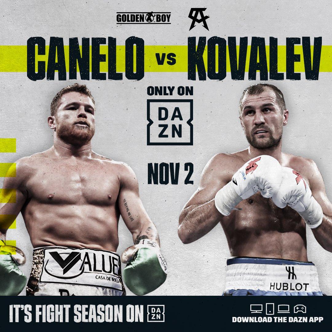 Canelo Kovalev