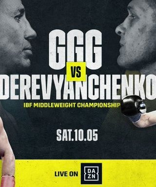 Golovkin vs Derevyanchenko Poster 2