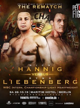 Hanning vs Liebenberg Poster
