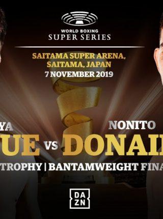 Inoue vs Donaire Poster