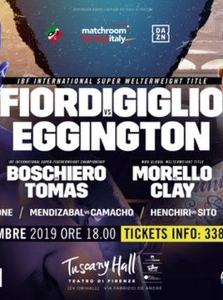 Orlando Fiordigiglio gegen Sam Eggington Poster