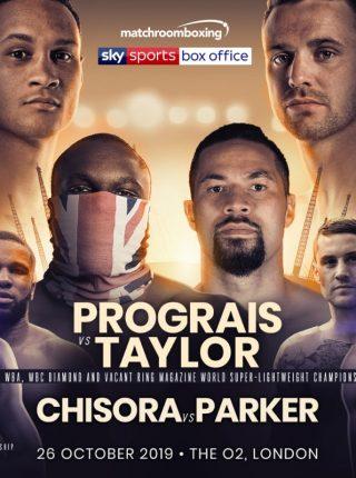 Prograis vs Taylor Poster