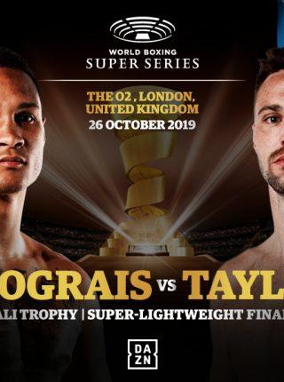Prograis vs Taylor Poster1