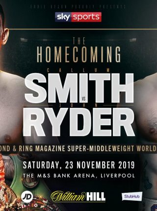 Smith vs Ryder Poster