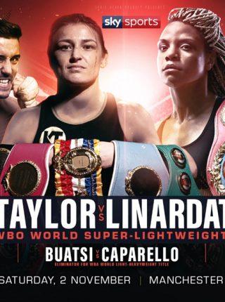 Taylor vsLinardatou Poster