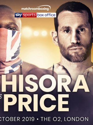 Chisora vs Price Poster