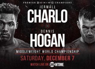 Jermall Charlo vs Dennis Hogan Poster