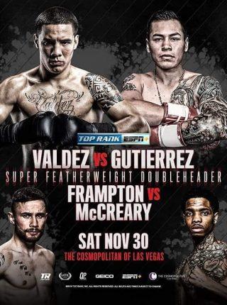 Oscar Valdez vs Andres Gutierrez Poster