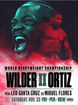 Wilder vs Ortiz 2 Poster