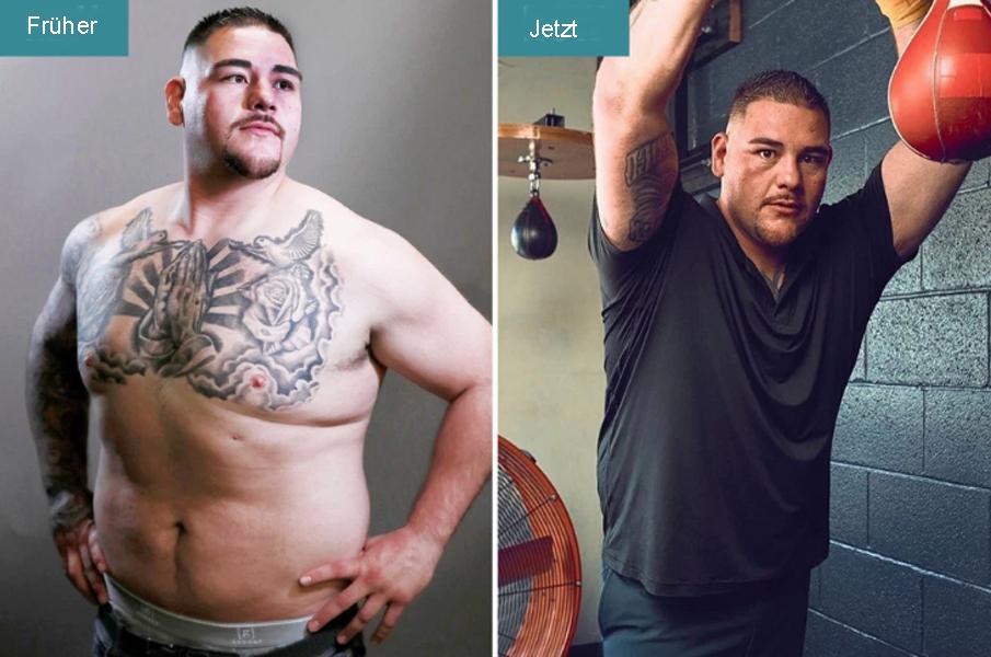 Andy Ruiz Gewicht
