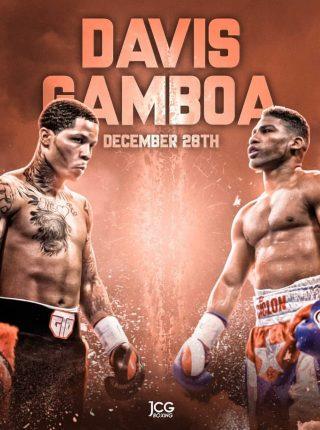 Gervonta Davis vs Yuriorkis Gamboa Poster