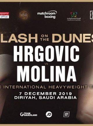 Hrgovic vs Molina Poster