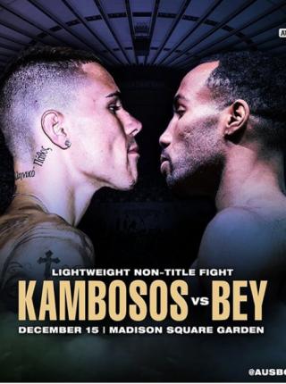 Kambossos vs Bey Poster