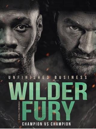 Wilder vs Fury Poster