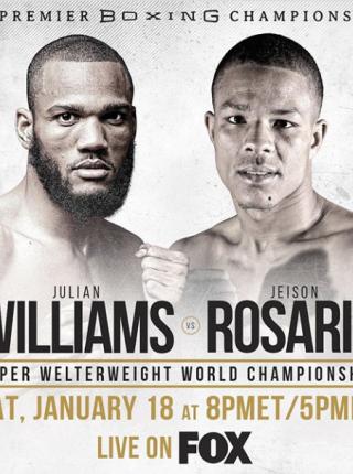 Williams vs Rosario Poster