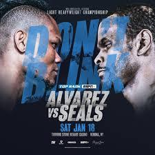 Alvarez vs Seals Poster