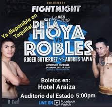 De La Hoya vs Robles