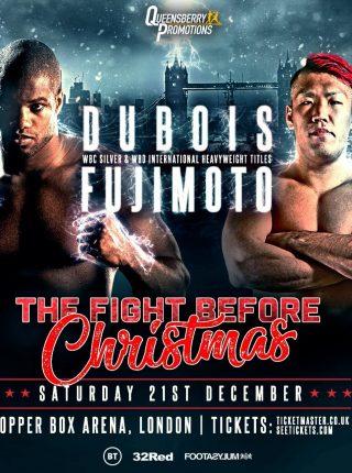 Dubois vs Fujimoto Poster