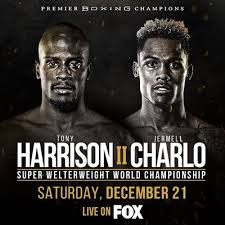 Harrison vs Charlo Poster