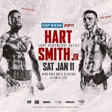Hart vs Smith Jr Poster