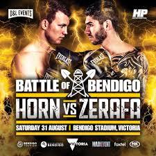 Horn vs Zerafa