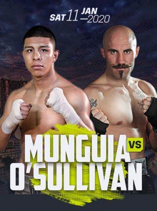 Munguia vs O'Sullivan Poster
