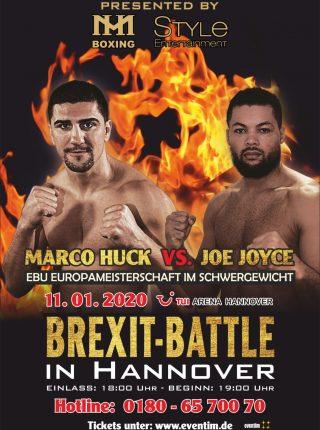 Offizielles Kampfplakat Marco Huck vs. Joe Joyce