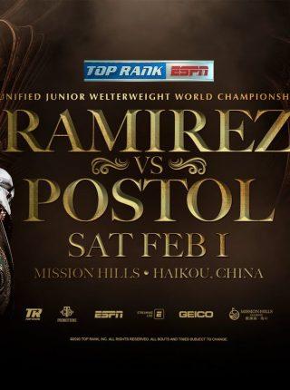 Ramirez vs Postol Poster