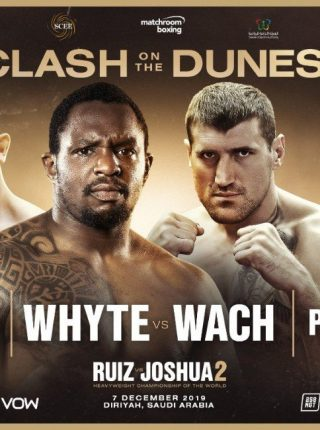 Whyte vs Wach Poster