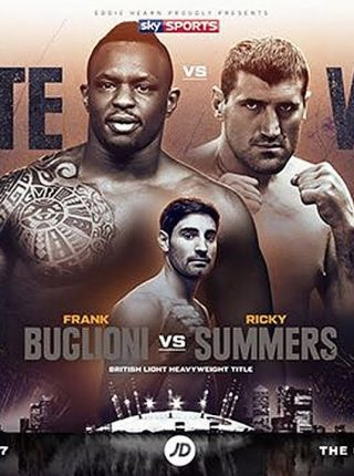 Whyte vs Wach Poster 4