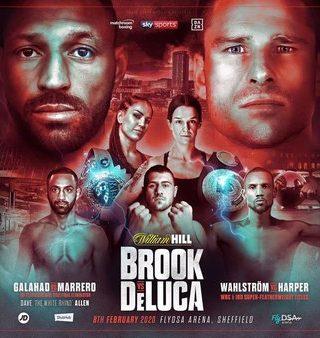 Brook vs DeLuca Poster 1