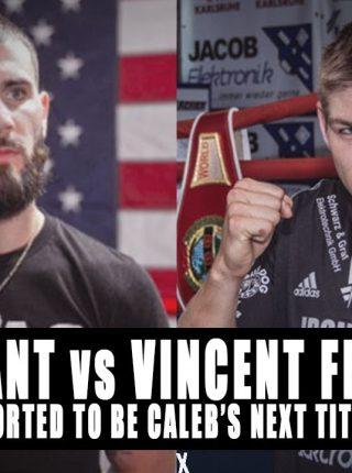 Caleb Plant vs Vincent Feigenbutz1 Poster