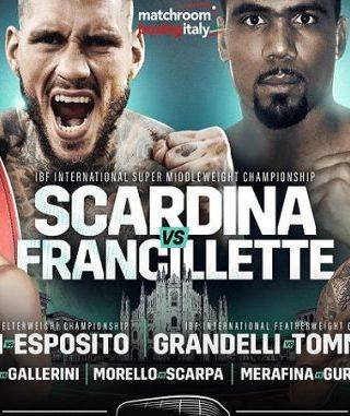 Daniele Scardina vs Andrew Francillette Poster