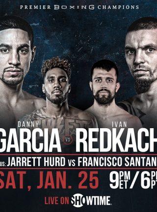 Danny Garcia vs Ivan Redkach Poster
