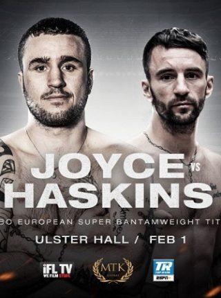 Davey Oliver Joyce vs Lee Haskins Poster