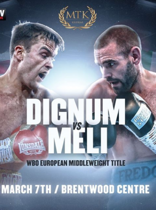 Dignum vs Meli Poster