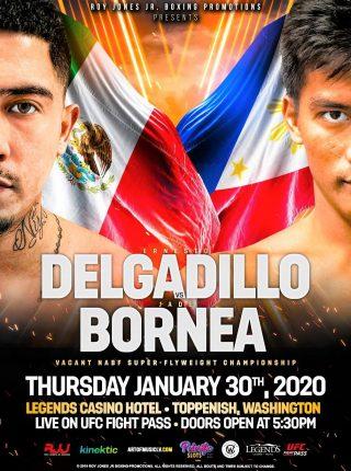 Ernesto Delgadillo vs Jade Bornea Poster