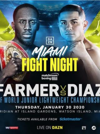 Farmer vs Diaz Poster