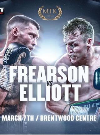 Frearson vs Elliot Poster