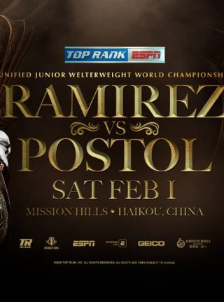 Jose Ramirez vs Viktor Postol Poster