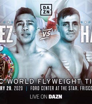 Julio Cesar Martinez vs Jay Harris Poster