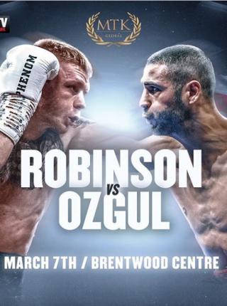 Robinson vs Ozgul Poster