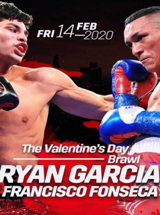 Ryan Garcia vs Francisco Fonseca Poster