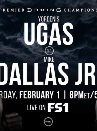 Yordenis Ugas vs Mike Dallas Jr Poster